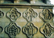 Alchemical symbols on Amiens Cathedral