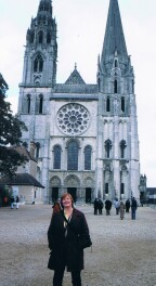 Front of Chartres Cathedral
