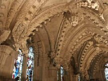 Rosslyn Chapel - Inside arches